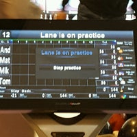Photo taken at Rolling Lanes Bowling Alley by andrew r. on 10/27/2016