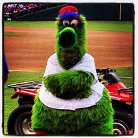 Photo taken at Citizens Bank Park by Danielle D. on 4/17/2013