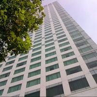 Photo taken at Hotel Mulia Senayan by Mas M. on 3/15/2013