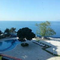 Photo taken at Antalya Hotel by Mrt Ö. on 4/23/2013