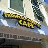 Photo taken at Tropical Smoothie Café by Damion T. on 3/10/2013