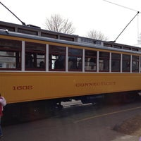 Photo taken at Shore Line Trolley Museum by Aileen W. on 3/28/2013