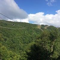 Photo taken at Hunter Mountain Zip Line by Annie K. on 8/24/2014