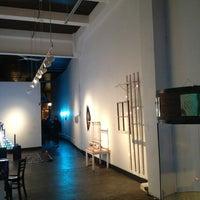 Photo taken at Vermillion Gallery & Wine Bar by Corey K. on 1/13/2013