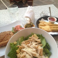 Photo taken at Vallarta Salads by Arantxa H. on 4/4/2013