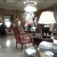 Photo taken at Hôtel Westminster by Tais B. on 4/10/2013