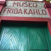 Photo taken at Museo Frida Kahlo by Diego S. on 10/7/2012