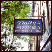 Photo taken at Patsy's Pizza - East Harlem by Anthony B. on 9/27/2012
