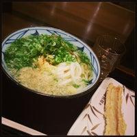 Photo taken at 丸亀製麺 仙台東口店 by Satoru A. on 2/12/2013