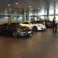 Photo taken at Porsche Italia by Andrea Z. on 4/30/2013