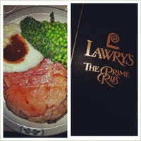 Photo taken at Lawry's The Prime Rib by Aids T. on 4/6/2013