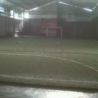Photo taken at Galaxy Futsal Center by Rendi S. on 5/20/2013