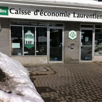 Photo taken at Caisse Desjardins by Webcommunicateur L. on 3/8/2013