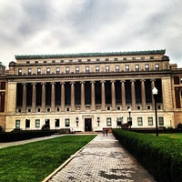 Photo taken at Butler Library by Gianluca F. on 8/24/2013