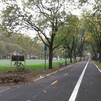 Photo taken at Queensbridge Park by E H. on 10/23/2012