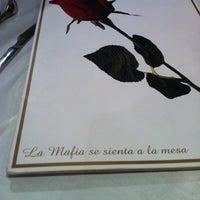 Photo taken at La Mafia se sienta a la mesa by Pedro T. on 3/23/2014