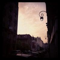 Photo taken at Arrêt Porte de Saint-Cloud [PC1,22,62,72,175,N12,N61] by Judy M. on 7/16/2013