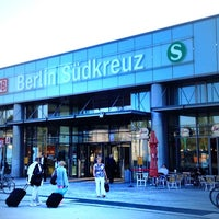 Photo taken at Bahnhof Berlin Südkreuz by Martin H. on 8/29/2013