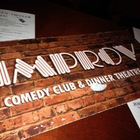 Photo taken at Improv Comedy Club by Chelsea C. on 4/29/2012
