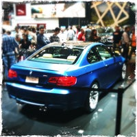 Photo taken at BMW at the NY International Auto Show by Henry W. N. on 4/15/2012