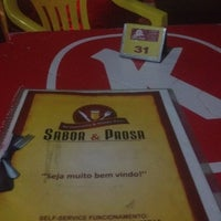 Photo taken at Sabor E Prosa by Cleber X. on 12/31/2011