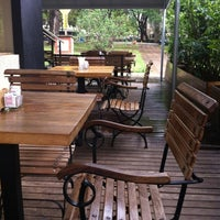 Photo taken at Cacahuá Chocolateria & Café by Adalberto C. on 10/16/2011
