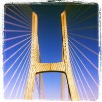 Photo taken at Ponte Vasco da Gama by Vasco S. on 10/10/2011
