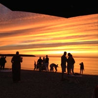 Photo taken at Navy Beach Restaurant by Kelly F. on 8/8/2012