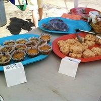 Photo taken at Atlanta Vegan Bake Sale 2012 by Eat Drink Better on 4/28/2012