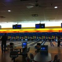 Photo taken at Buffaloe Lanes Cary Bowling Center by Tim B. on 4/22/2011