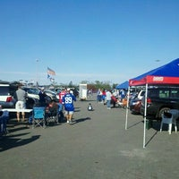 Photo taken at Occupy Sukkot Meadowlands Tailgate by Adam O. on 10/16/2011
