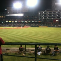 Photo taken at AutoZone Park by Scott L. on 6/30/2012