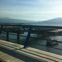 Photo taken at Ferry A Guarda by evita. m. on 2/22/2012