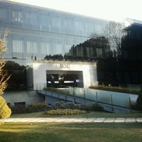 Photo taken at IESE Business School by Andres G. on 2/1/2012