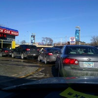 Photo taken at Downtowner Car Wash by Bud K. on 1/29/2012