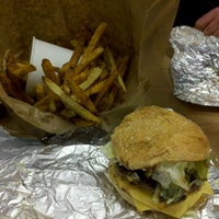 Photo taken at Five Guys by Madison G. on 1/5/2012