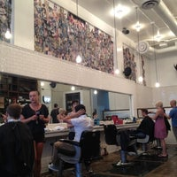 Photo taken at Rudy's Barbershop by Edmundo H. on 8/18/2012