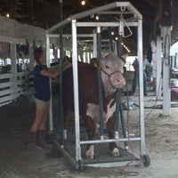 Photo taken at St Joseph County 4-H Fair Grounds by Candice C. on 6/30/2012