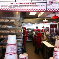 Photo taken at Five Guys by david c. on 1/9/2012