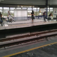 Photo taken at Metrorrey (Estación Hospital) by Felo M. on 7/2/2012