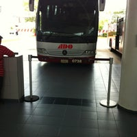 Photo taken at Terminal de Autobuses ADO by Lucio L. on 5/26/2012