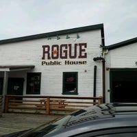 Photo taken at Rogue Ales Public House by Wilman U. on 4/20/2012