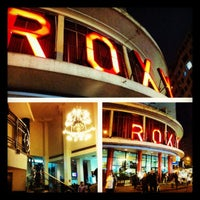 Photo taken at Cinema Roxy by Andrea d. on 7/13/2012