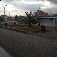 Photo taken at Transmilenio: Marsella by Peter S. on 8/22/2012