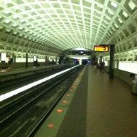 Photo taken at McPherson Square Metro Station by Terri on 6/27/2012