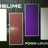 Photo taken at Sublime Food Lounge by LA Weekly on 10/4/2011