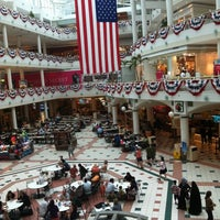 Photo taken at Fashion Centre at Pentagon City by Allan B. on 6/1/2011