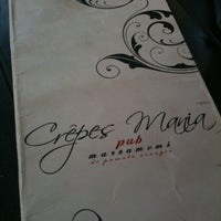 Photo taken at Crepes Mania by Emme E. on 8/12/2011