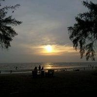 Photo taken at Pantai Morib by WilL W. on 3/18/2012