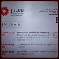 Photo taken at FICOD 2011 by Enrique B. on 11/24/2011